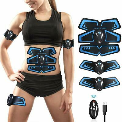 BLUE LOVE ABS Stimulator Abs Muscle Toner Abdominal Toning Belt, Electric Ab