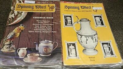Spinning Wheel Antiques magazine lot of 22