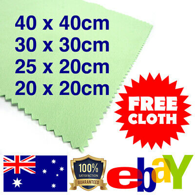 Large Polishing Cloth Jewellery Watch Gold Silver Silverware Cleaning Polish