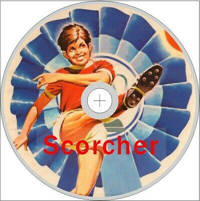 Scorcher Comic 262 Issues On Dvd Rom