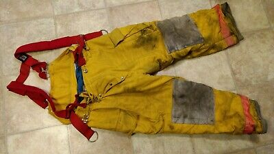 Chieftain Yellow Turnout Pants Size X-Large