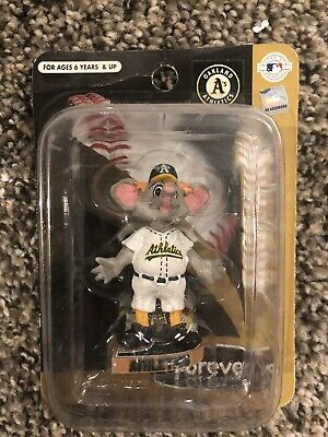 STOMPER Oakland ATHLETICS Mini BOBBLE Head Mascot Bobble Bobblehead MLB