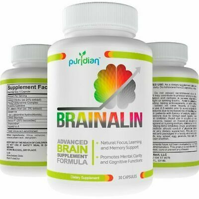Brain Supplement Natural Nootropics Supplement Boost Your Memory With Brainalin