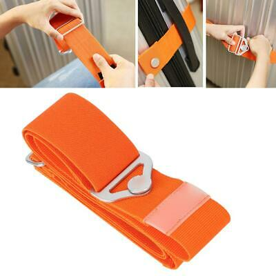 Adjustable Travel Suitcase Luggage Strap Nonslip Travel Strap Clip Protect Belt