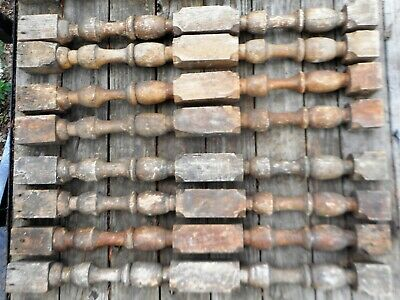 """Large Antique Solid Oak Balusters 40"""" High x 3"""" Wide Sold by Each"""