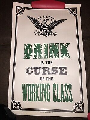 POSTER #9059 RAP14 B FREE SHIPPING COMICAL: CANADIAN DRINKING TEAM