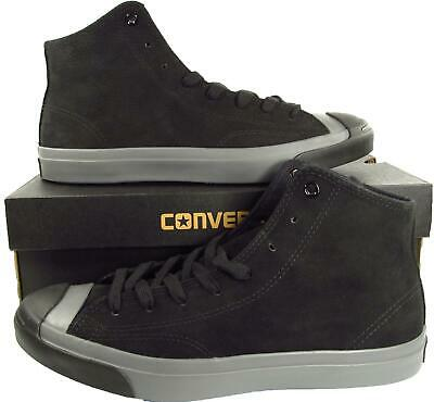 CONVERSE JACK PURCELL JP JACK MID Black Suede Leather
