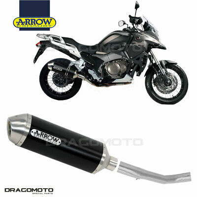 HONDA CROSSTOURER 1200 2016 2017 Scarico ARROW RACE-TECH ALU Nero