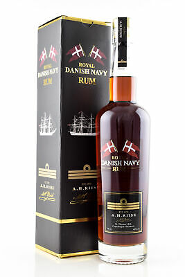 A.H. Riise Rum Royal Danish Navy 27
