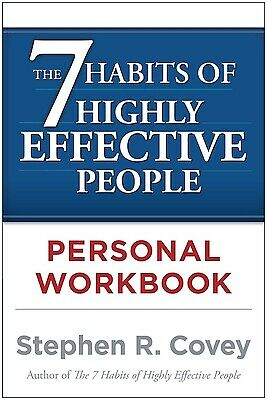 The 7 Habits of Highly Effective People Personal Workbook  (ExLib)