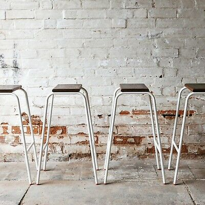 Awesome Vintage Retro Industrial Stacking Science Lab School Cafe Ocoug Best Dining Table And Chair Ideas Images Ocougorg