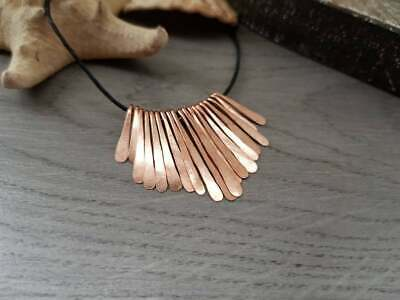 Hammered Paddle Set | Graduated Copper Paddle Drops | 19 pc Set | Made to Order
