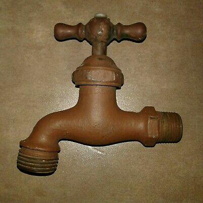 Antique Water Spigot/Faucet/Valve Used, Painted, Washtub