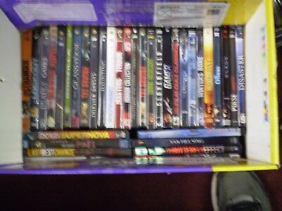 (117) Horror DVD Lot: Halloween The Grudge (4) Saw  Silent Hill  Friday the 13th