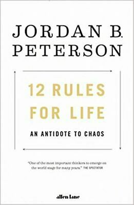 12 Rules for Life An Antidote to Chaos Paperback Book