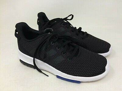New w/defect Youth Adidas DB1300 CF Racer TR  Running Shoes Black 20M