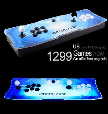 1299 Game Pandora Box 5S Arcade Retro Console Metal Base LED