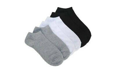 12 Pair Women Men No Show TRAINER SOCKS INVISIBLE Ankle Liner Cotton Sport Socks
