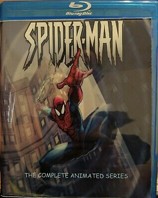 Complete 1990's Spiderman Animated Series on Bluray