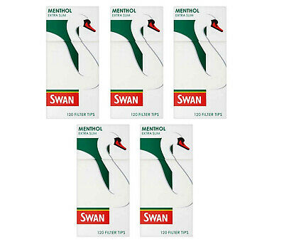 Swan Menthol Filter Tips 5 pack