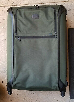 """Tumi 'Alpha' Extended Trip Lightweight 31"""" Suitcase Green 28529SPH MSRP $895"""