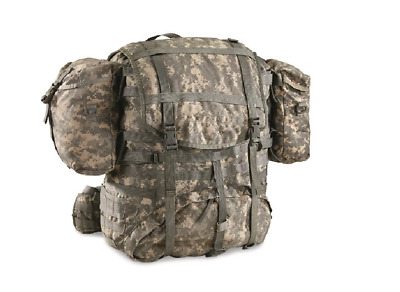 USED MOLLE II ACU Large Rucksack Field Pack Complete w/ Frame US Military Army