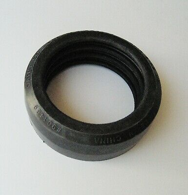 """Rubber caulking gasket to fit 2"""""""" copper DWV drain pipe in NO-CALK shower drain"""