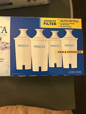Brita 636011 Replacement Filters for Water Pitchers,Open Box- 4 Unused Filters