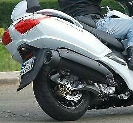 SYM MAXSYM 400i EXHAUST HEAT COVERS ( 1 MIDDLE+ 2 REAR )