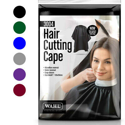 Wahl Cape 100% Microfiber & Waterproof Cutting Hairdressing/Barber/Salon 3004