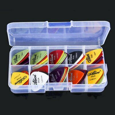 20/50/100 Pcs Guitar Picks Acoustic Electric Bass  Plectrums Various 6 thickness