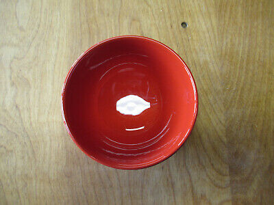 """Waechtersbach FUN FACTORY FREESTYLE CHERRY RED Bowl 4 3/4""""  2 available"""