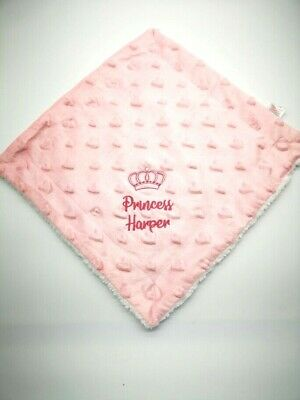 Personalised Baby Comforter  Blankie/Blanket- Quality Gift  NEW 2019 princess