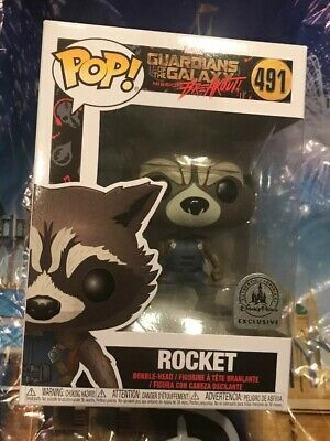 Funko Pop Disney Parks Exclusive Rocket Guardians Of The Galaxy Breakout #491