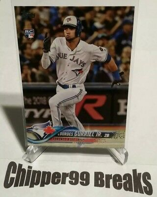 Lourdes Gurriel Jr RC 2018 Topps Update Card #US110 Blue Jays ROOKIE