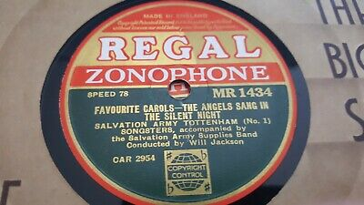 The Salvation Army Tottenham Songsters Favourite Carols Regal Zonophone Mr1434