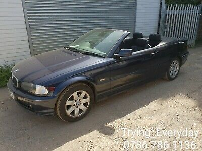 Bmw E46 318ci Convertible N42 Pre Facelift Manual Orient Blue Breaking 1 Wiper
