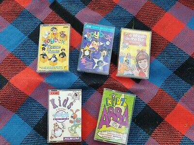 KID'S CHILDREN'S SING-A-LONG Cassette Tapes ABBA, nursery rhymes, stories  Songs