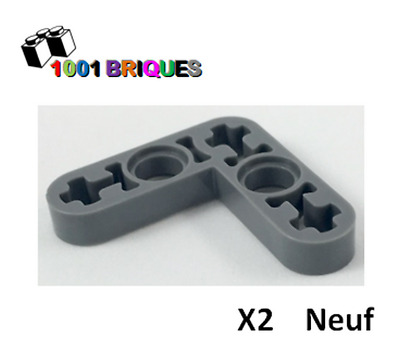 Missing Lego Brick 32056 Black x 4 Technic Beam 3 x 3 x 0.5 Lift Arm Bent 90°