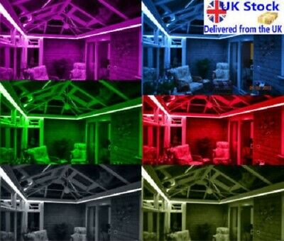 LED Strip Light Set For Conservatory Sun Room - Multi-Colours - Remote Control