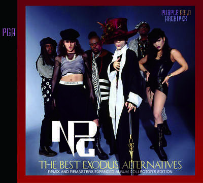 Prince Npg The Best Exodus Alternatives Remix Remastered Collector's Edition 2Cd