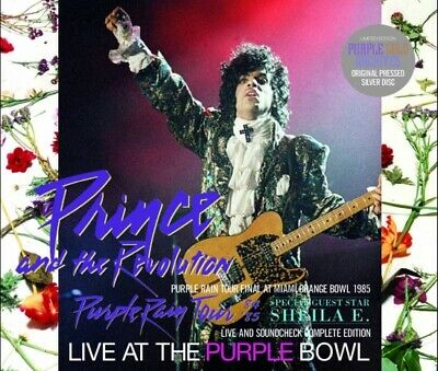 Prince The Revolution Purple Rain Tour Live At The Purple Bowl 1985 Complete 3Cd