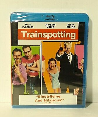 Trainspotting (Blu-ray Disc, 2009, Canadian Bilingual) NEW AUTHENTIC REGION A