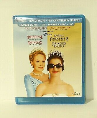 The Princess Diaries FRENCH (Blu-ray/DVD, 2013, 2-Disc Set, Canadian Bilingual