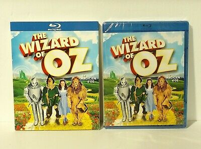 The Wizard of Oz (Blu-ray Disc, Canadian Bilingual 75th Anniversary Edition NEW