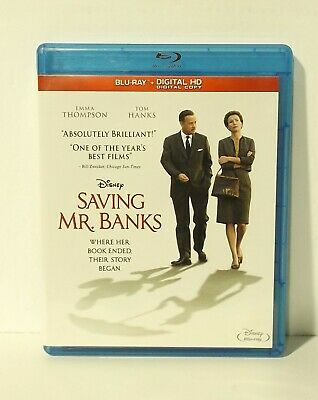 Saving Mr. Banks (Blu-ray Disc, digital, Canadian Bilingual) Disney Mary Poppins