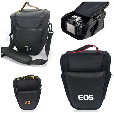 Triangle Camera Bag Waterproof Shoulder Case For Canon Sony Nikon DSLR EOS Gift