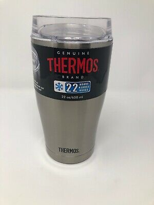 e267b8da843 Thermos Stainless Vacuum Insulated Tumbler with 360 Degree Drink Lid 22oz  *DENT*