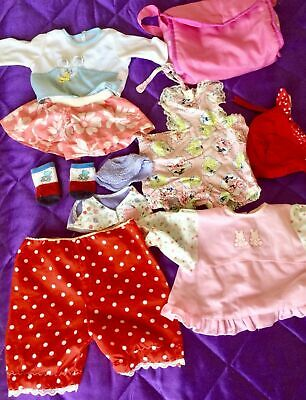 Bulk Doll Clothes Outfits - Cabbage Patch - My Child Doll - Baby Doll - Vintage