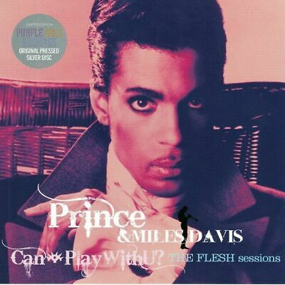 PRINCE & MILES DAVIS CAN i PLAY with U? THE FLESH sessions 2CD F/S